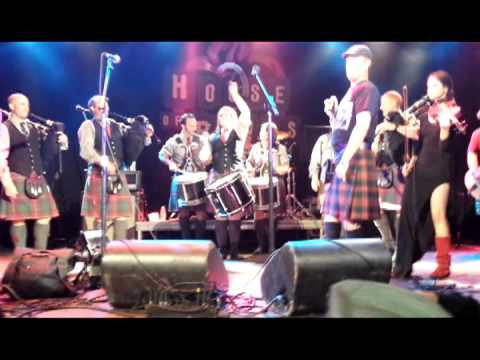Brick Top Blaggers - The Battle of Stirling Bridge (Live at House of Blues Anaheim 2013)