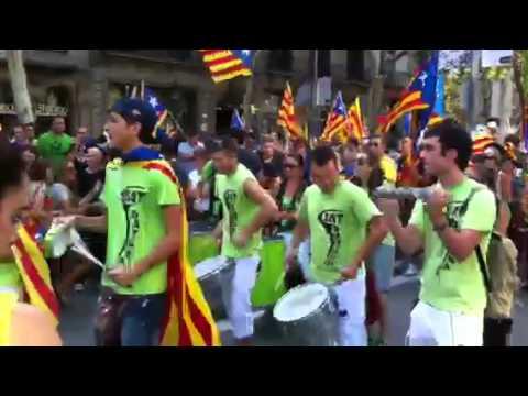 Diada Nacional de Catalunya 2012 Batucada
