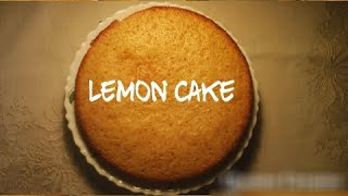 Lemon Cake Using Sufuria within (45 mins)