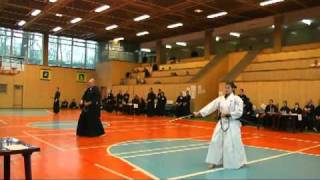 1st Russian Open Iaido Tournament, Individual Shodan, Semifinal