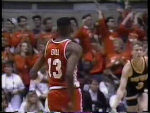 Kendall Gill 89 vs Iowa