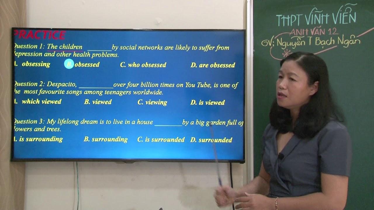 Tiếng Anh lớp 12 – ÔN THI TN THPT ( Tập 2 )