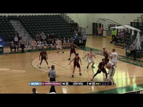 Men' Basketball: St. Thomas Aquinas advances to the Elite Eight