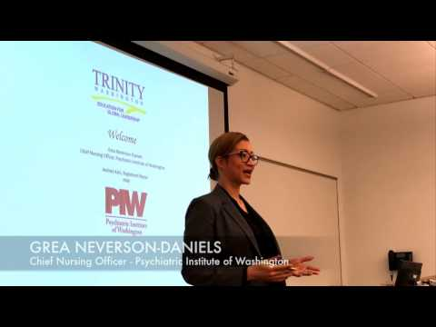 Trinity University Guest Lecturer Thanks