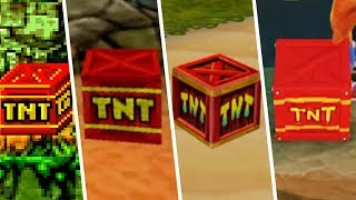 Evolution of the TNT in Crash Bandicoot Games - Updated HD