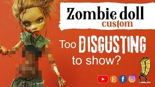Monster High Doll Zombie Repaint OOAK | Zombie | Walking Dead