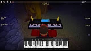 Already Dead by: Lil' Boom on a ROBLOX piano.