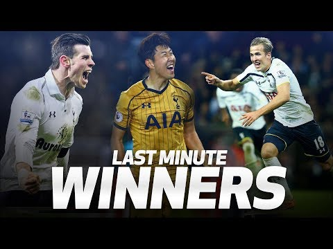 SPURS MOST DRAMATIC INJURY-TIME WINNERS | ft. Harry Kane, Gareth Bale and Heung-min Son!