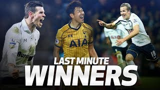 Download SPURS' MOST DRAMATIC INJURY-TIME WINNERS   ft. Harry Kane, Gareth Bale and Heung-min Son! Mp3 and Videos