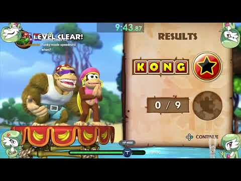 Donkey Kong Tropical Freeze Switch Co-op W/toongirl007 :3 | (funky Mode) Part 1