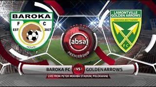 Absa Premiership 2018/19 | Baroka vs Golden Arrows