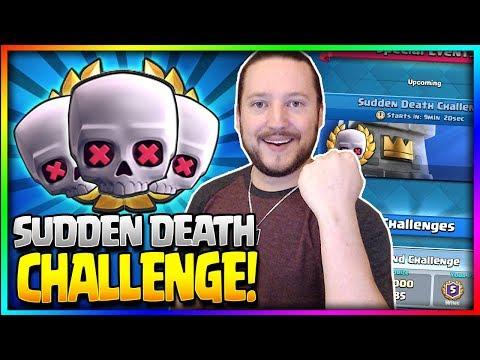 🎉 BIRTHDAY STREAM!! 🎉 -  Sudden Death Challenge - Clash Royale