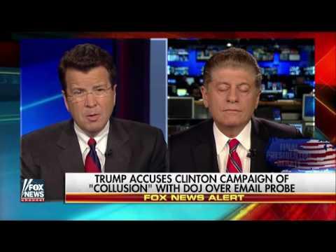 Napolitano on controversy over Clinton-DOJ coordination