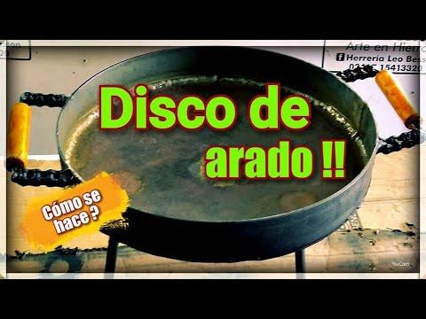 DIY Como hacer un disco de arado para cocinar ( Plow Disc)