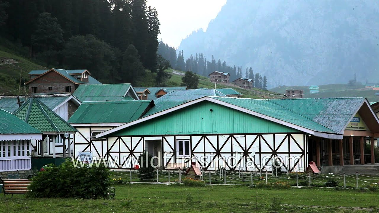 Jammu and kashmir tourism department guest house in sonamarg india youtube
