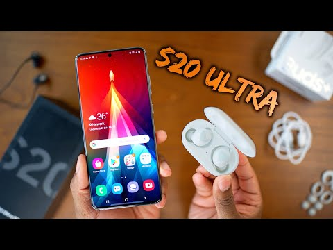 Samsung Galaxy S20 Ultra AND Galaxy Buds+ Unboxing!