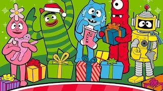A Very Yo Gabba Gabba Christmas Part 1- iPad app demo for kids - Ellie