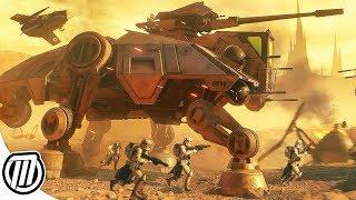 Star Wars Battlefront 2: HUGE Battle of Geonosis | CLONE WARS 4K Gameplay