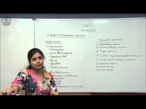 Postal and Communication Services Cl XI Bussiness Studies by Ruby Singh