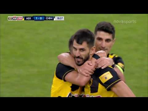 AEK OFI Crete Goals And Highlights