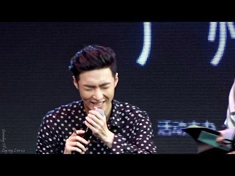 161204 Guangzhou fansign - cantonese & eating 張藝興 Zhang Yixing Lay