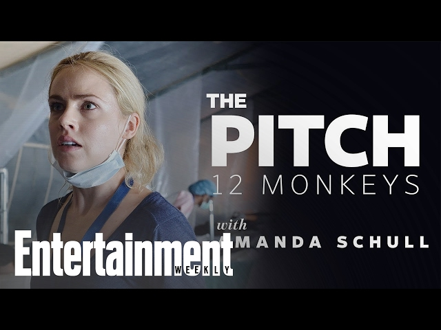 Amanda Schull Pitches Syfy's '12 Monkeys' To Beyonce & Grandma | Entertainment Weekly