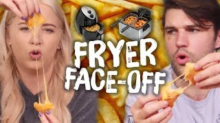 Deep Fryer vs. Air Fryer - WHICH IS BETTER?! (Cheat Day)