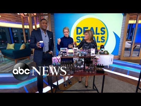 Michael Strahan can't get enough of this special holiday gift on 'Deals and Steals'