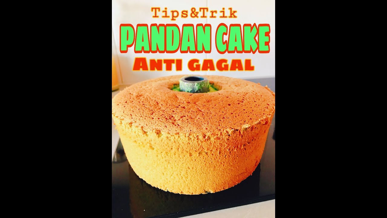TRIK DAN TIPS BIKIN PANDAN CAKE ANTI GAGAL