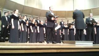 SFA - A Capella Choir - Raua Needmine