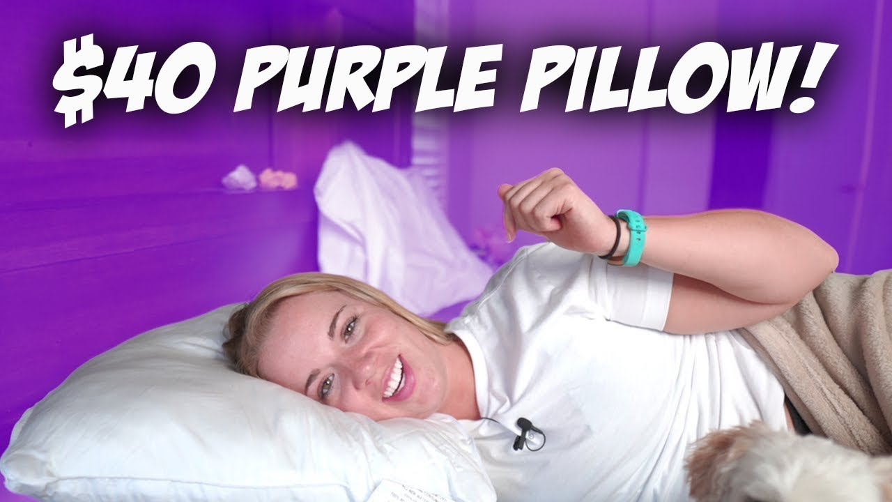 we tried purple plush pillow is it really adjustable