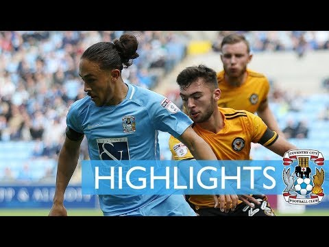 Highlights | Coventry 0-1 Newport County