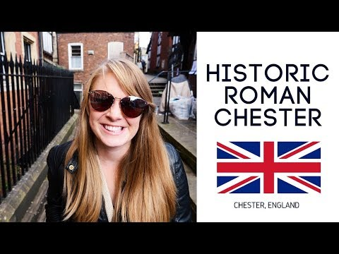 Chester England - but tossing a coin for everything