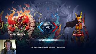 Duelyst || Gigaloth Crushing It