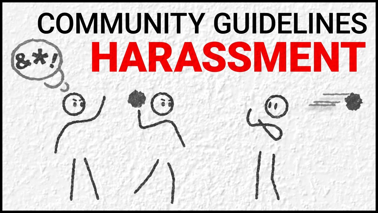 Harassment and cyberbullying policy - YouTube Help
