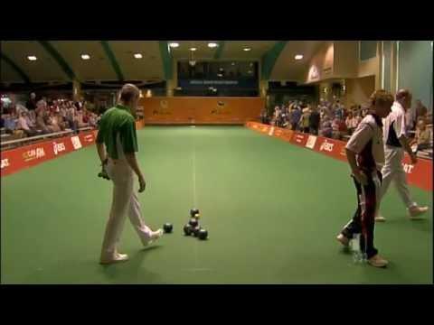 Lawn Bowls: World Cup 2011  Mens Semifinal G Archer Vs Ian Merrien