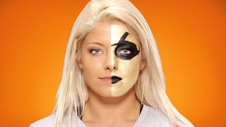 Alexa Bliss verwandelt sich in Goldust: WWE Halloween Make-Up Tutorial