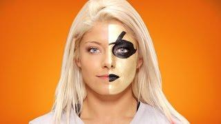 Alexa Bliss verwandelt sich in Goldust: WWE Halloween Make-Up Tutorial