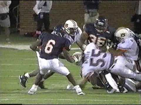 Auburn Tigers at Virginia Cavaliers | College Football | September, 4th 1997