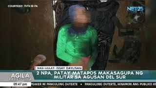 2 NPA, patay matapos makaengkwentro ng mga militar sa Agusan Del Sur