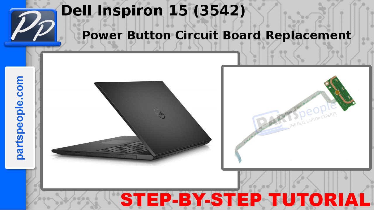 Dell Inspiron 15 (3542 / 3543) Power Button Circuit Board Video ...