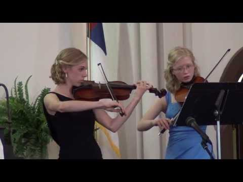 Träumerei from Kinderscenen, Op. 15 #7 (violin and viola duet)