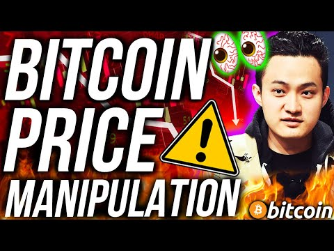 BITCOIN PRICE MANIPULATION!? ALTCOINS AT WAR! JUSTIN SUN SCAMS!! CRYPTO NEWS!