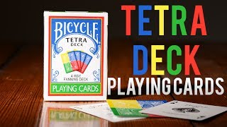Deck Review - Bicycle Tetra Deck 4 Way Fanning Deck Playing Cards