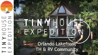 Inside Orlando Lakefront, A Tiny House Community