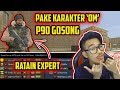 CHALLENGE P90 POINT + KARAKTER BAPAK2 ?! AUTO RATAIN EXPERT!! Point Blank Zepetto Indonesia