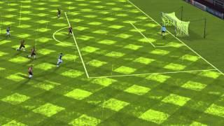 FIFA 14 iPhone ミジョナリオスFC VS ボヤカ・チコFC