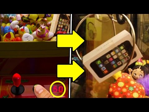 Thumbnail: GET FREE STUFF FROM ANY CLAW VENDING MACHINE! (Life Hacks)