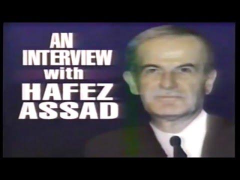 President Hafez Assad Syria Oct 26 1991