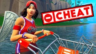THIS BUG ULTRA CHEATÉ AT CADDIE ME TELEPORTE ON FORTNITE BATTLE ROYALE 🔥